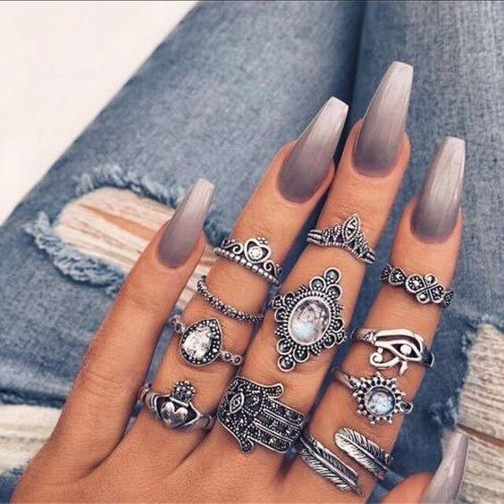 paznokcie ombre